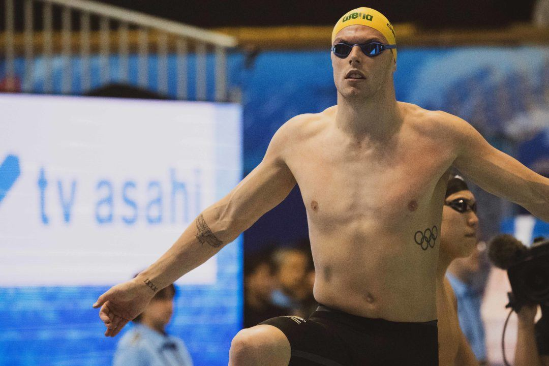 Chalmers Clocks 1:57 200 Fly/48.2 100 Free, McKeown 2:06 200 Back At NSW