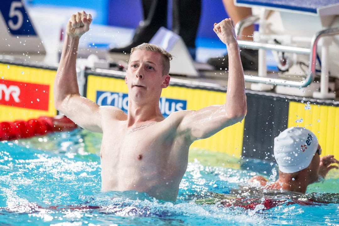 Florian Wellbrock with next German Record, 800 m Freestyle