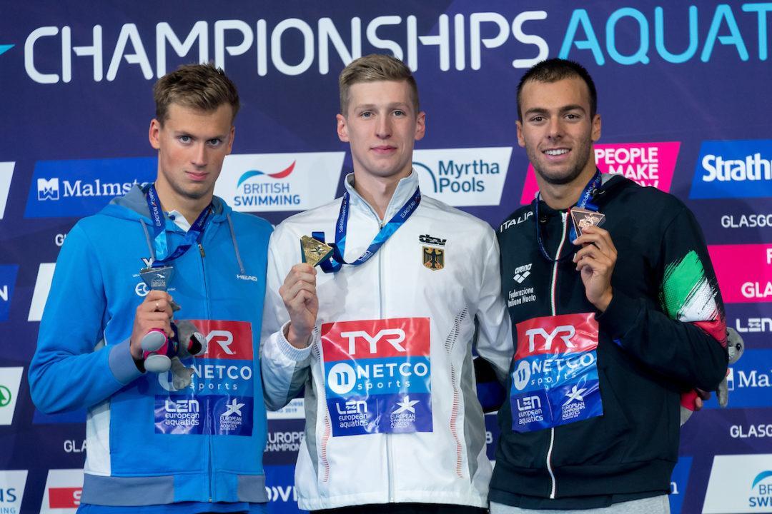 Europameisterschaften 2018: DSV Team auf Rang 8