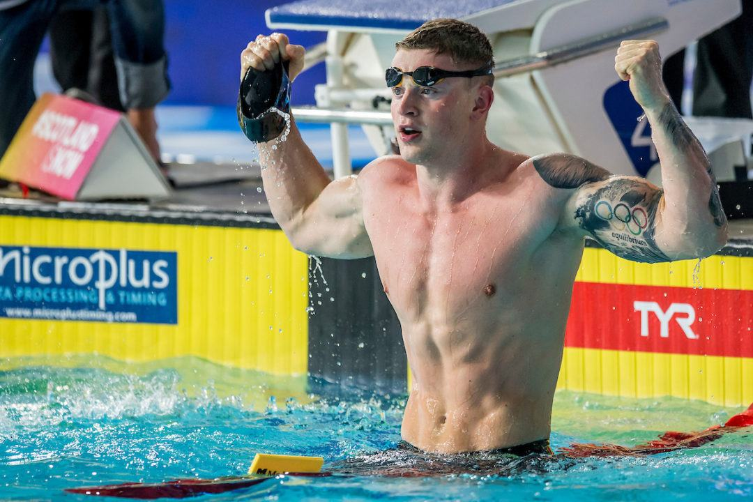 Great Britain Breaks European Championship Record in Men's Medley