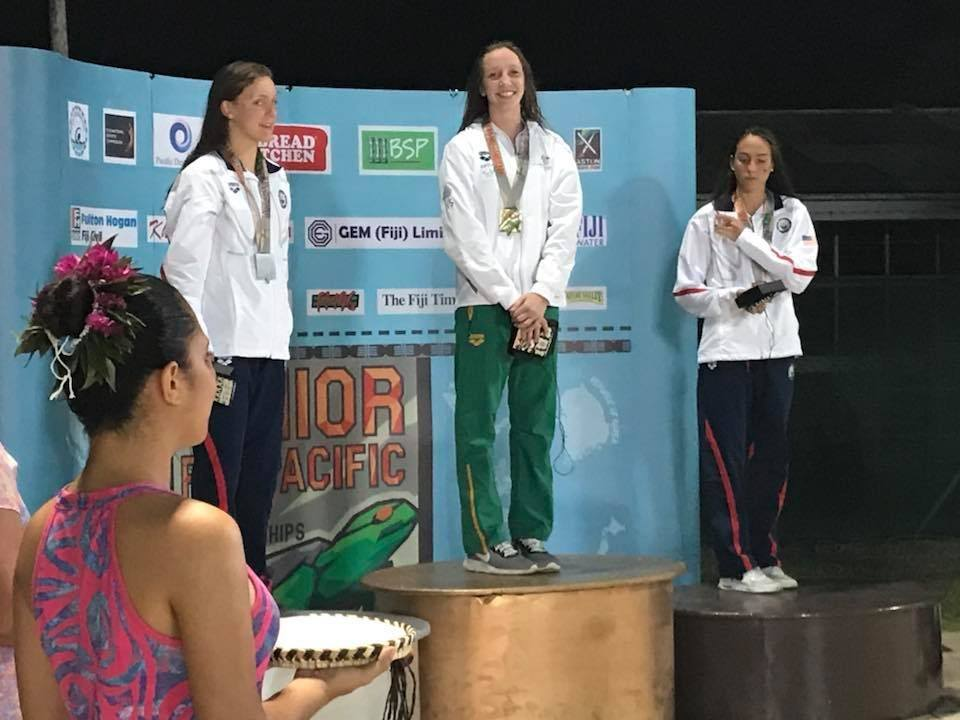Lani Pallister Dominates Distance Free Events at 2018 Junior Pan Pacs