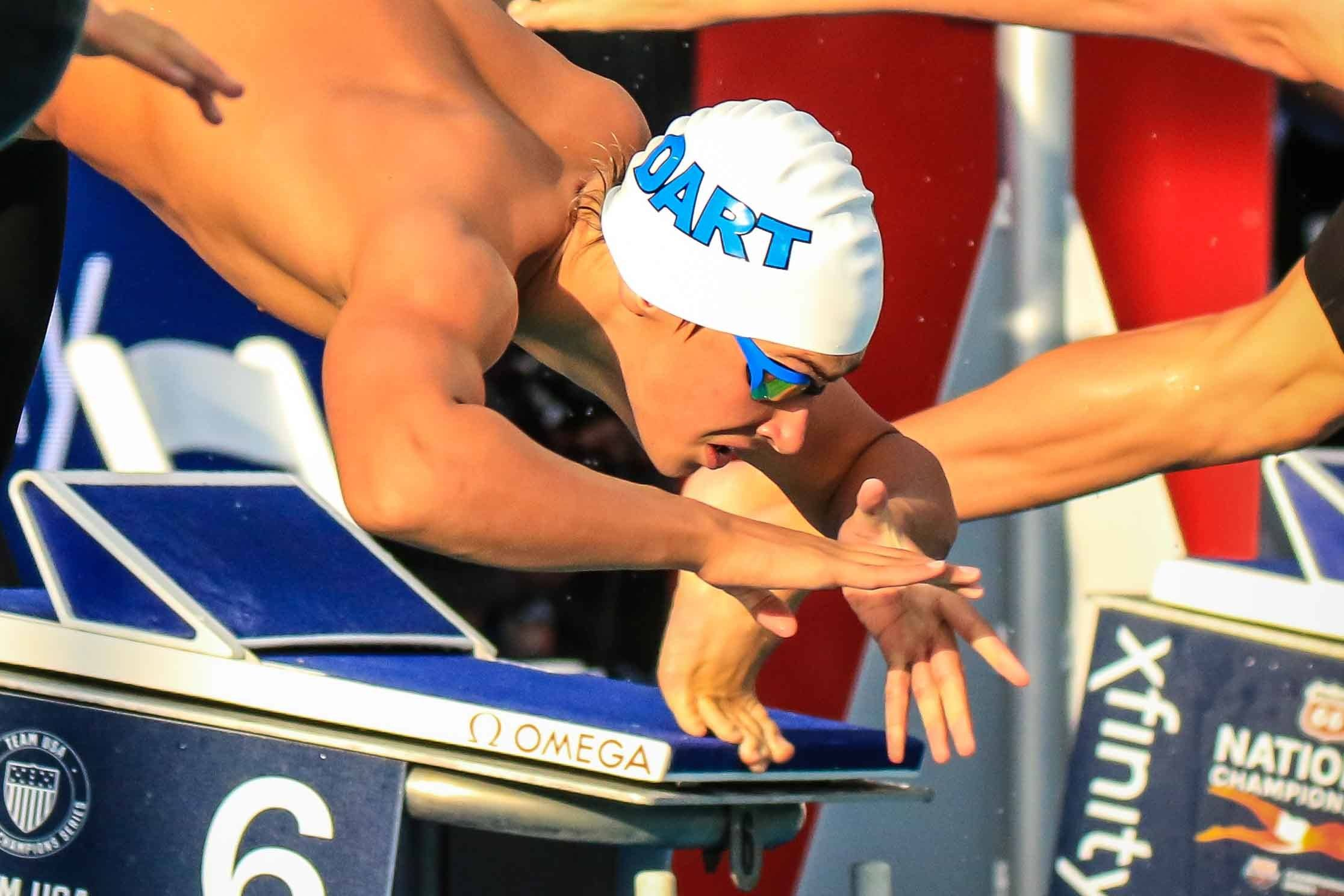 Luca Urlando Hits New Lifetime 200 Free Best for Third Time in 2019