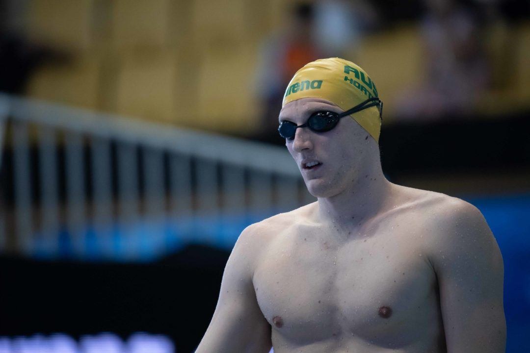 Mack Horton Abstains from 400 Free Podium Celebrations in Protest of Sun Yang