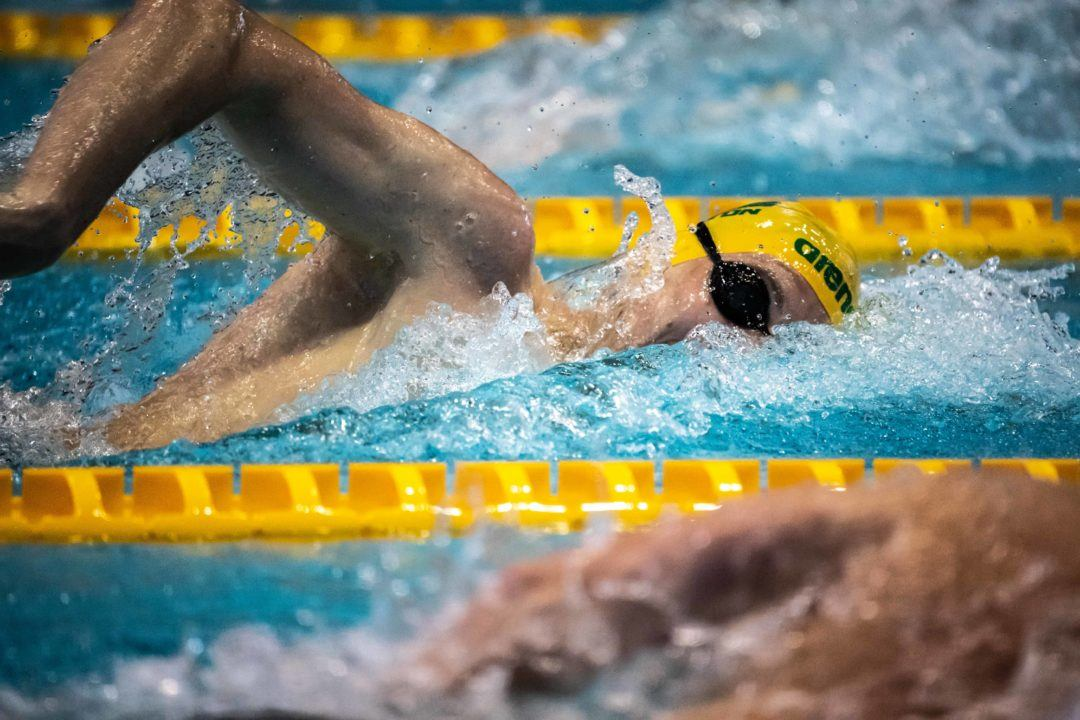10th Seed Zach Incerti Hits 1:46.89 200 Free To Top Prelims At Aussie Nats