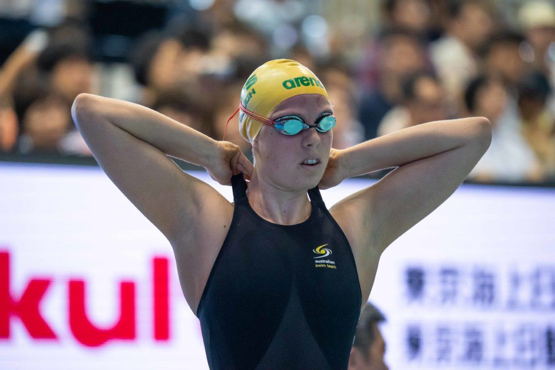 Maddy Gough Breaks Through With SCM 1500 Free Aussie National Record