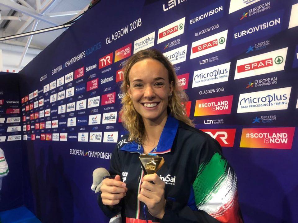 On-Fire Margherita Panziera Joins ISL Aqua Centurions