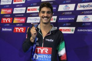 Swimmer Matteo Restivo Becomes First Italian Athlete to Receive Covid Vaccine