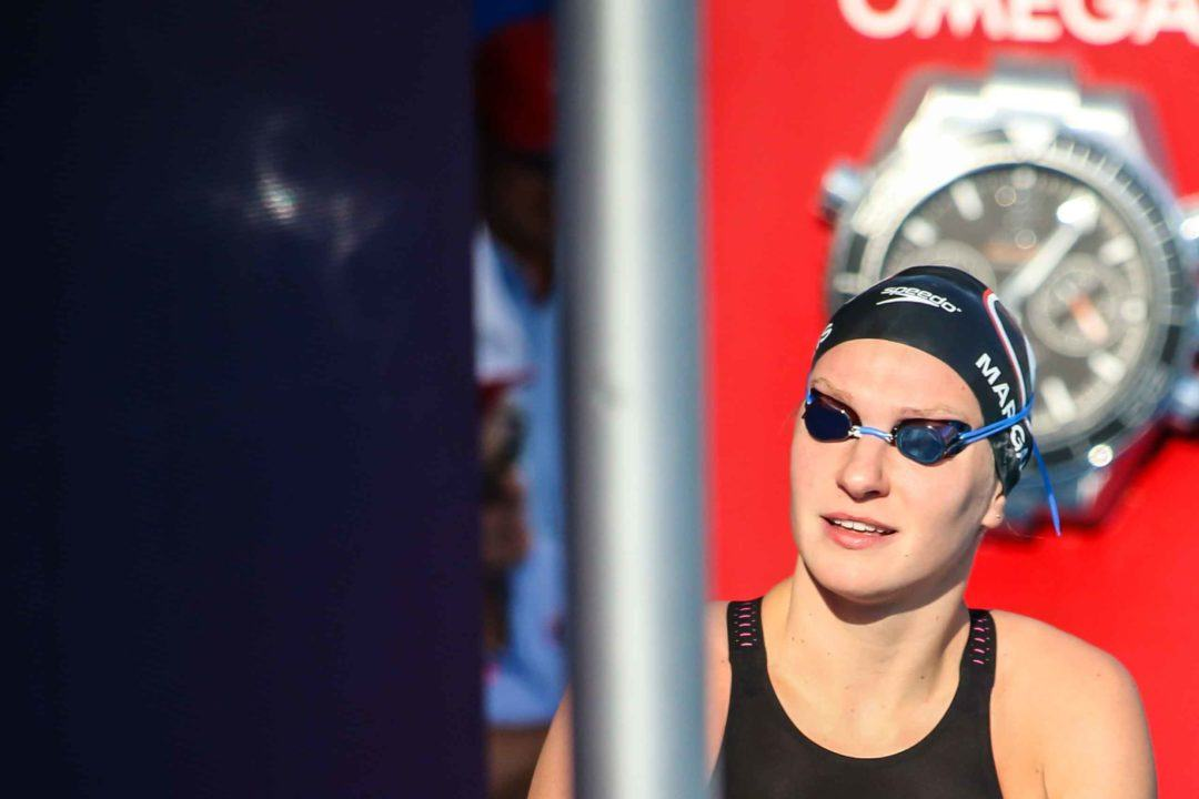 Melanie Margalis Breaks American Record in 400 IM in Maryland