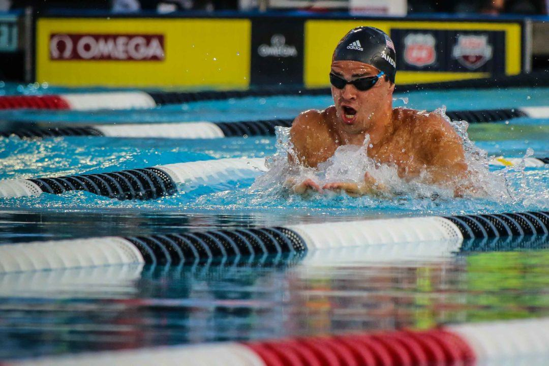 Michael Andrew Scratches out of Final Prelims Session at Bloomington