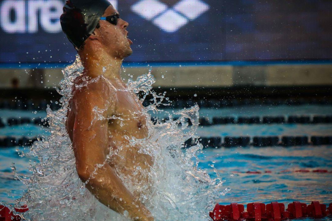Andrew Rips Another 24-Second 50 Back At Day 2 Prelims In Doha
