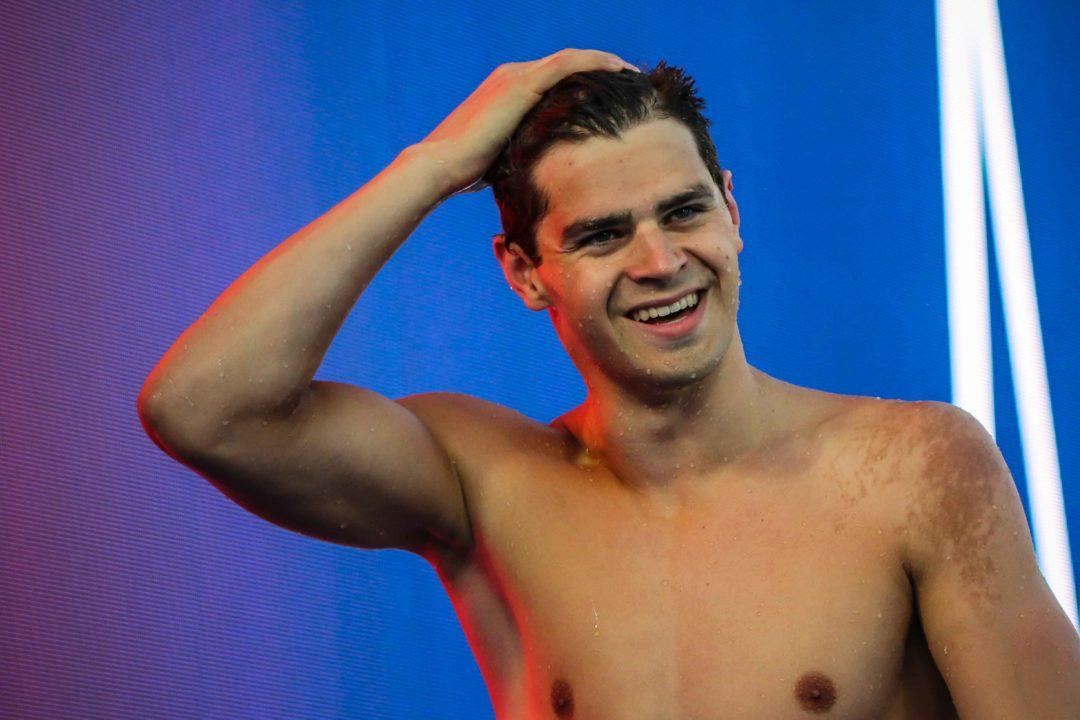 Michael Andrew Scores New 50 Breaststroke American Record