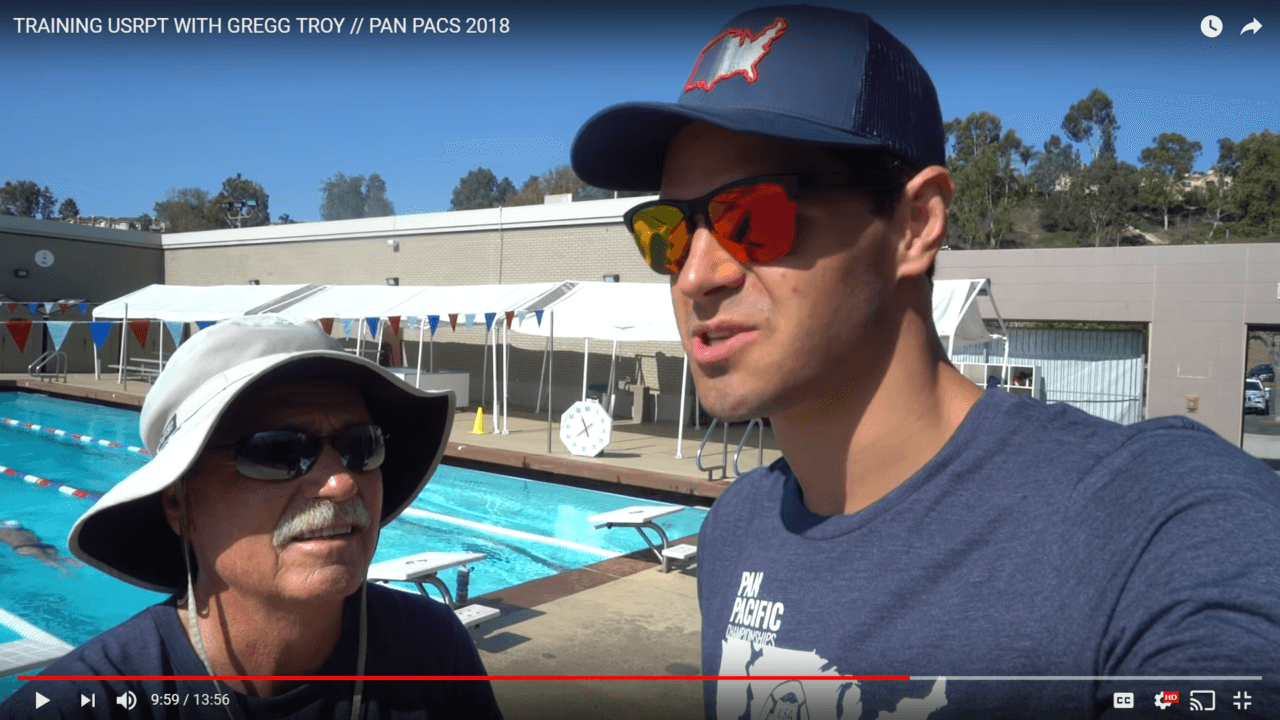 Watch How Michael Andrew Trains USRPT With Team USA Coaches