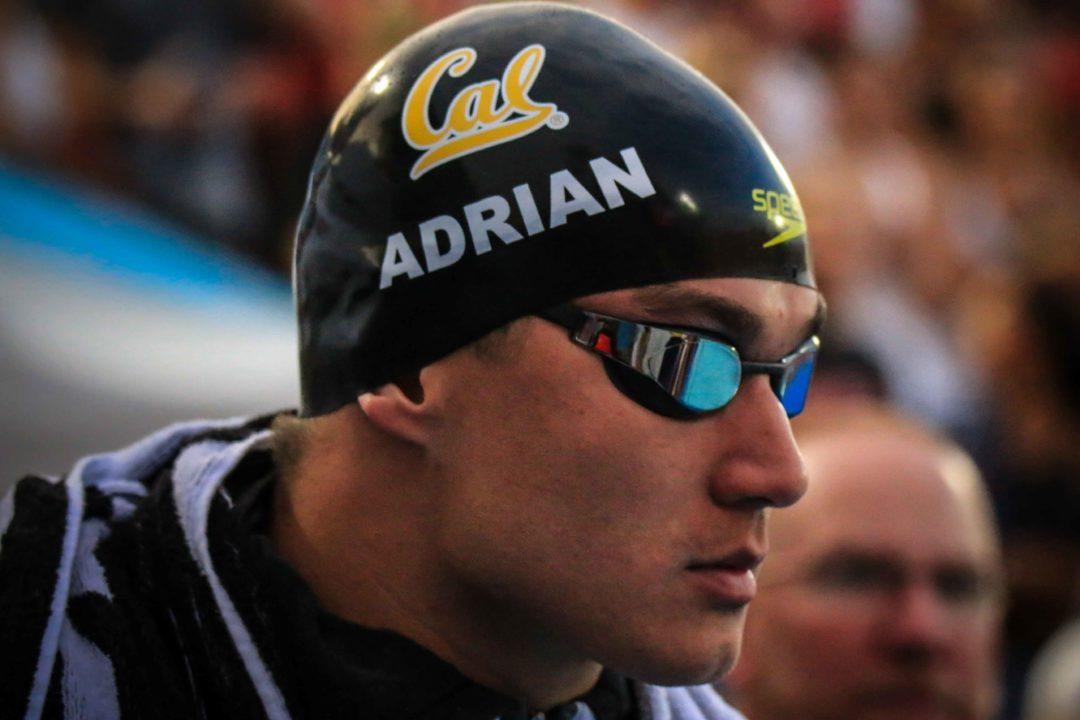 Nathan Adrian Diagnosed With Testicular Cancer, Still Eyeing Tokyo
