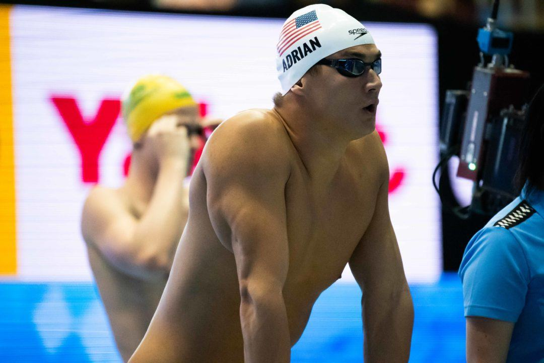 Nathan Adrian Scratches 50 Free on Final Day of 2018 Pan Pacs