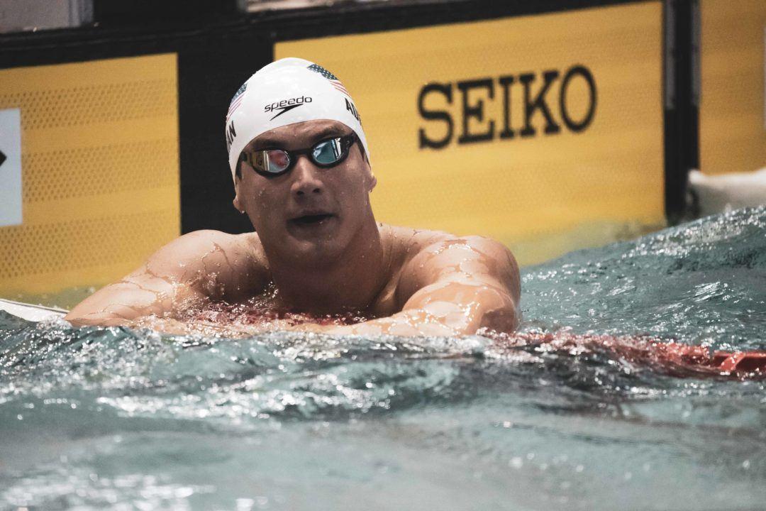 US Schwimmer Nathan Adrian an Hodenkrebs erkrankt