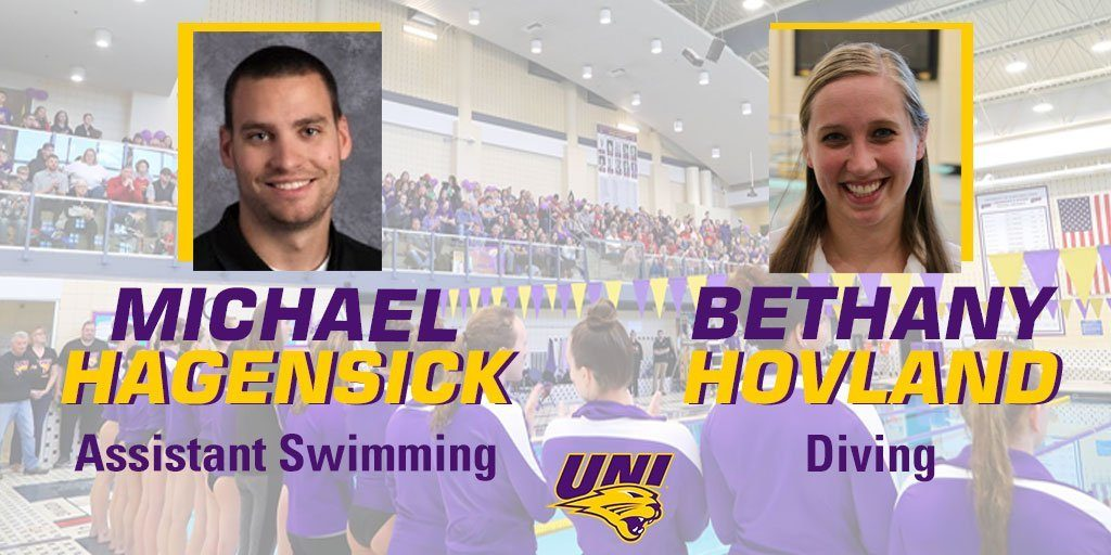 Northern Iowa Adds Two Alumni to Swimming & Diving Staff