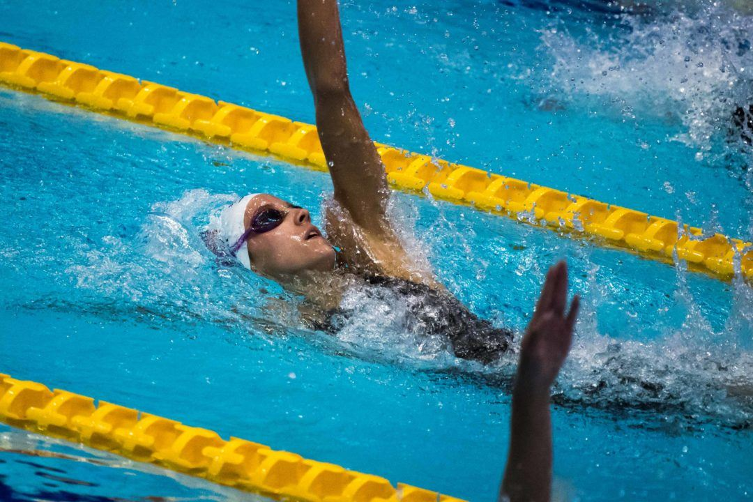Regan Smith Breaks National Age Group Record on Relay Leadoff