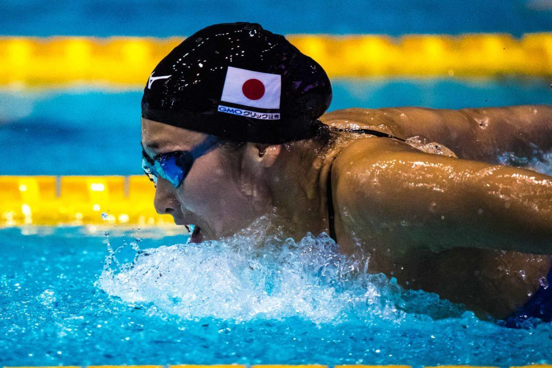 Ikee's 55.48 Fly Leg Leads Japan To National Record In Medley Relay