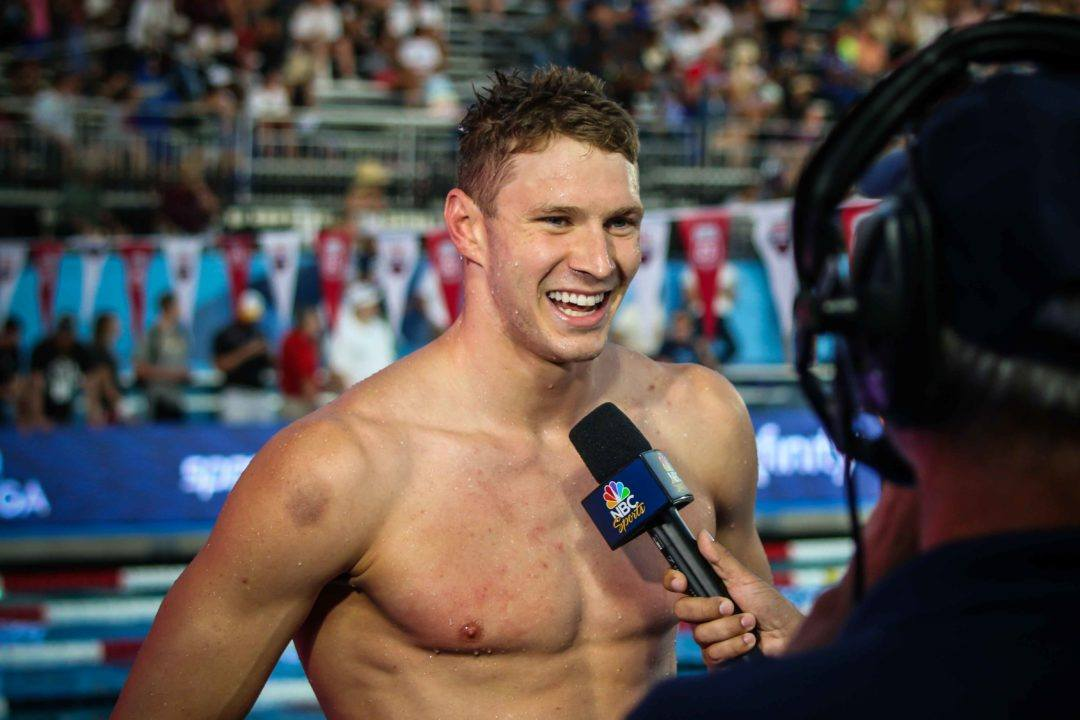 2018 Swammy Awards: U.S. Male Swimmer of the Year Ryan Murphy