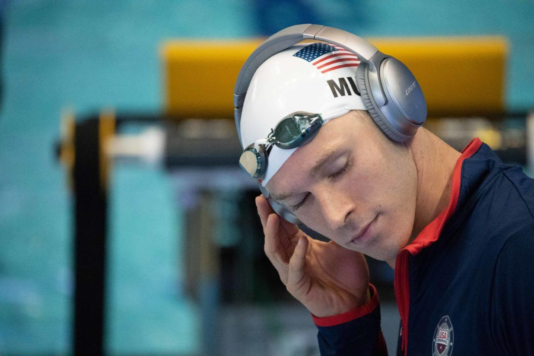 Ryan Murphy Breaks Meet Record, Nears Personal Best in 200 Back Prelim