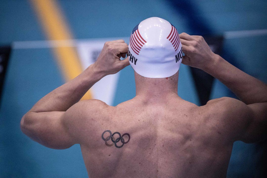Five Swimmers Named Finalists for USOC's Best of August Awards