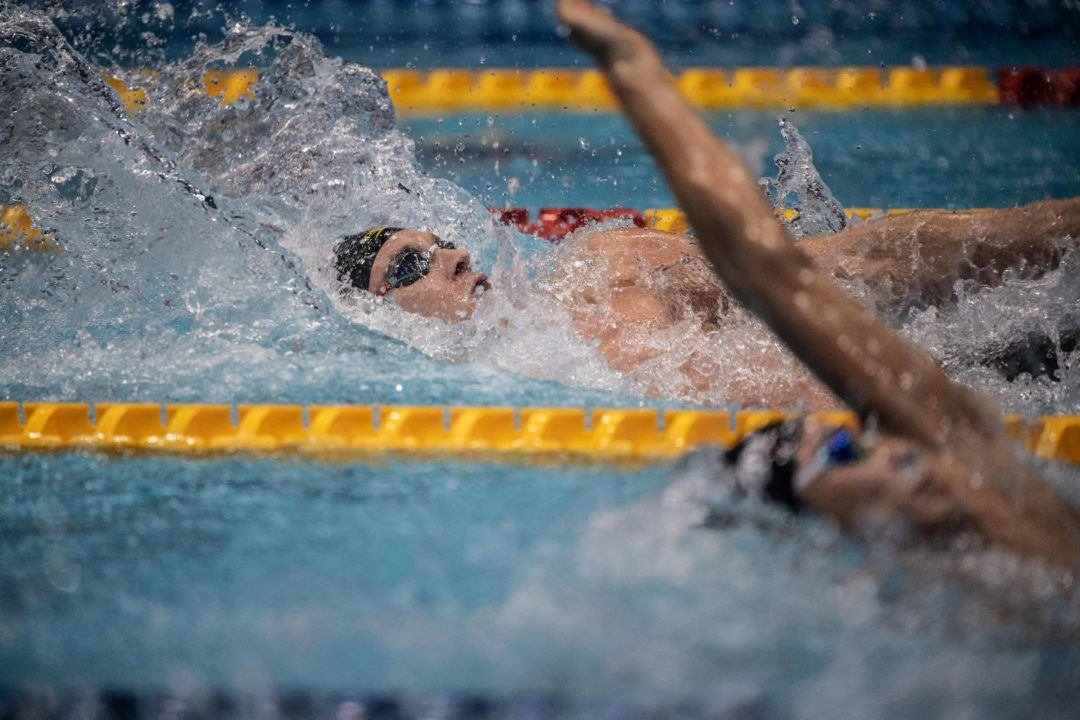Murphy Lowers 200 Back Best Time For Championship Record – 1:53.57