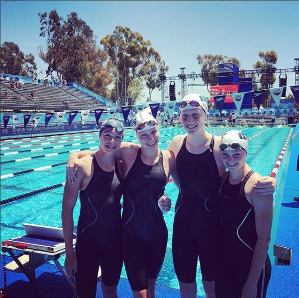SwimMAC Torches 13-14 400 Medley Relay NAG at Junior Nats Time Trial