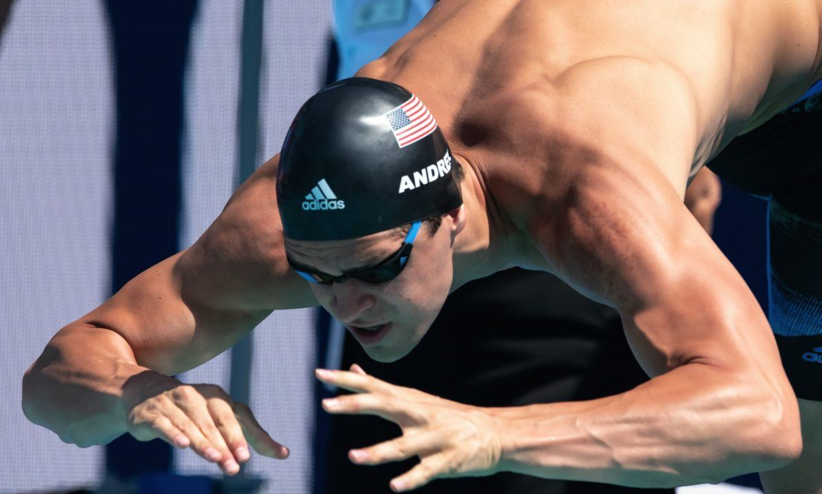 Sparse Swimmers Meant Only 5 Races In AM Of Day 1 Doha World Cup