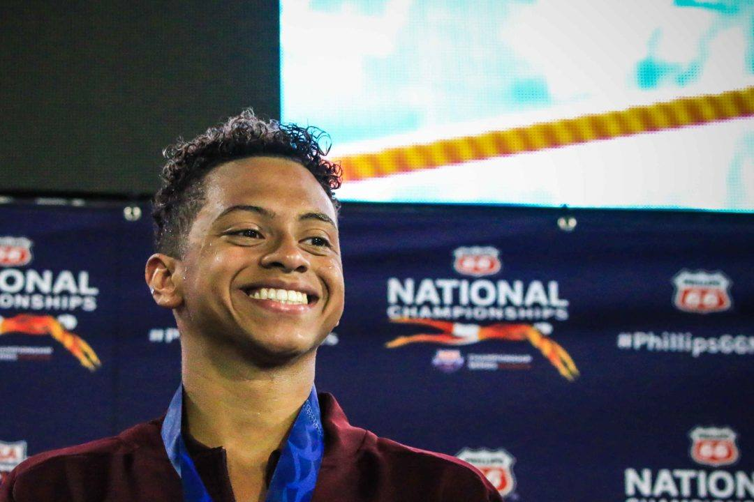 Shaine Casas Smashes PRs at Art Adamson Invite Day 1 Prelims