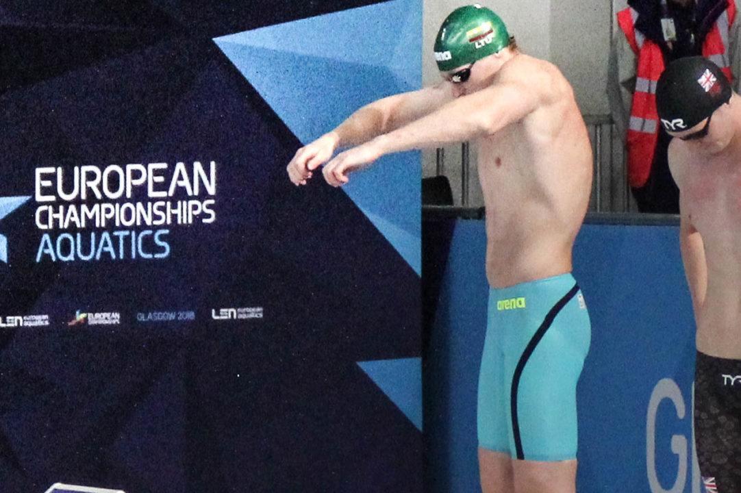 Simonas Bilis Becomes First Lithuanian Man Ever Under 21 Seconds