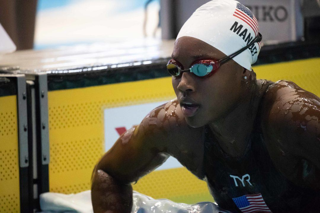 Simone Manuel Becomes 1st Woman to Win 7 Medals in Single World Championships