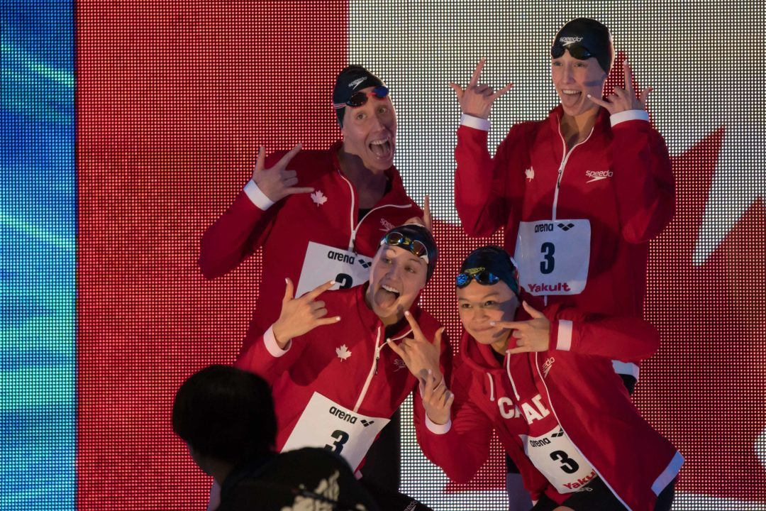Canada to Host 2022 Pan Pacific Swimming Championships
