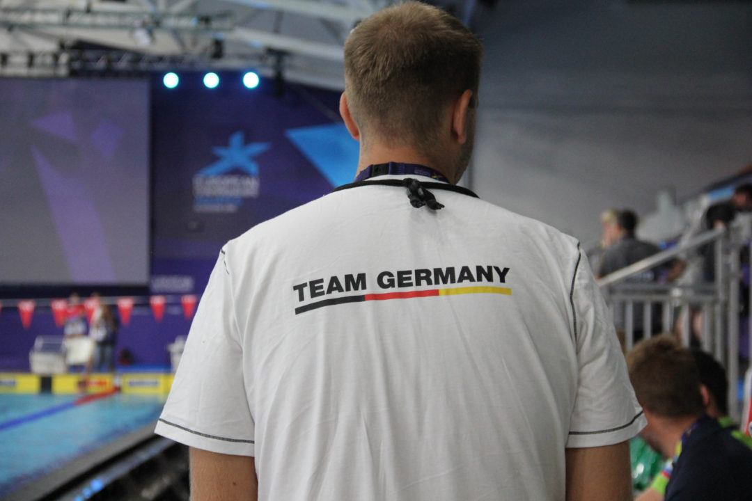 German men's 4x50m medley relay lowered national record