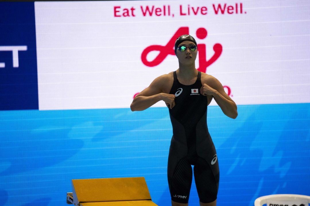 Sans Ikee, Japanese Women Clock 4×100 Free Relay NR, Qualify For Tokyo