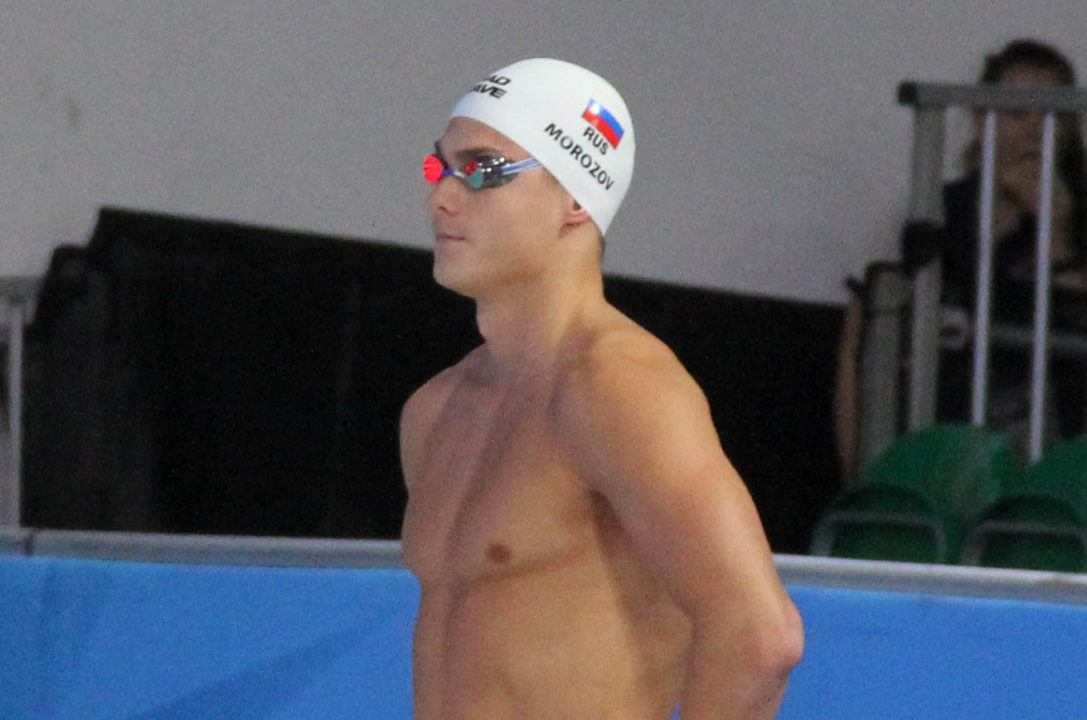 2018 FINA World Cup: Morozov Cranks Out 21.49 50 Free World Cup Record