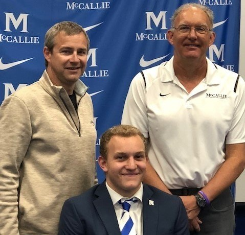 Versatile Ben Griffith of McCallie / GPS to Swim for Wheaton College
