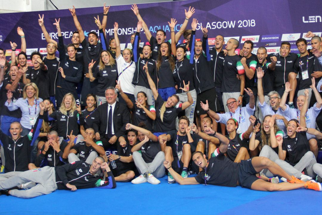 2018 Italy Most Successful European Championship Ever With 22 Medals