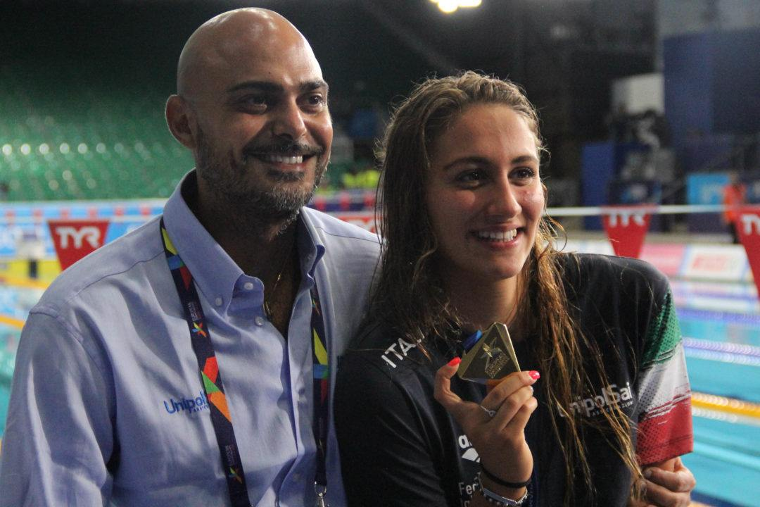 "Quadarella's Coach Minotti Earns ""Coach Of The Year"" Italian Award"