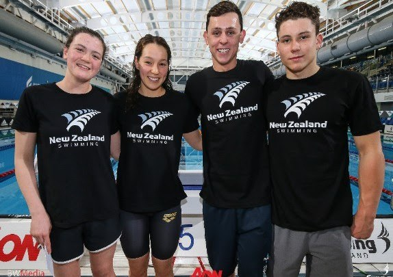 New Zealand Confirms 4-Swimmer Roster for 2018 Youth Olympics