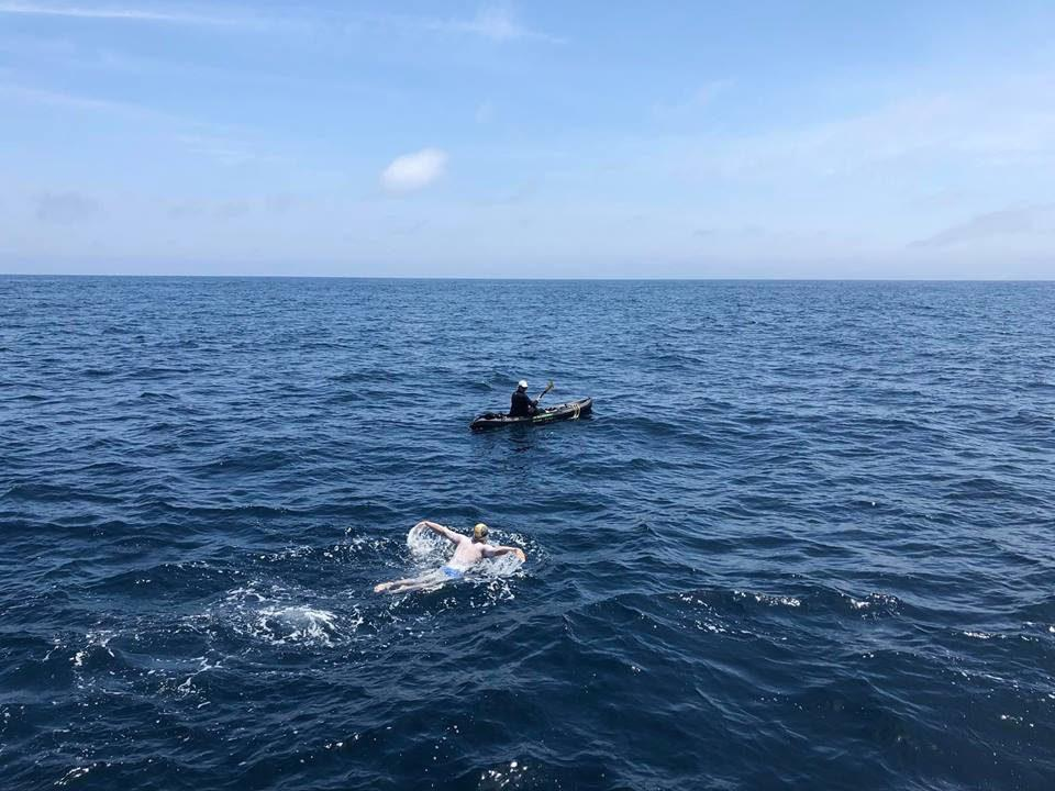 Colorado Man Completes All-Butterfly Catalina Channel Swim on 3rd Try