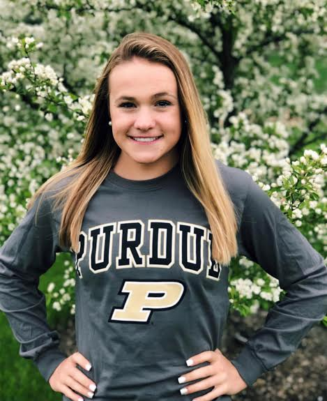 Sprint Butterflier Mallory Jump of St. Charles Verbals to Purdue