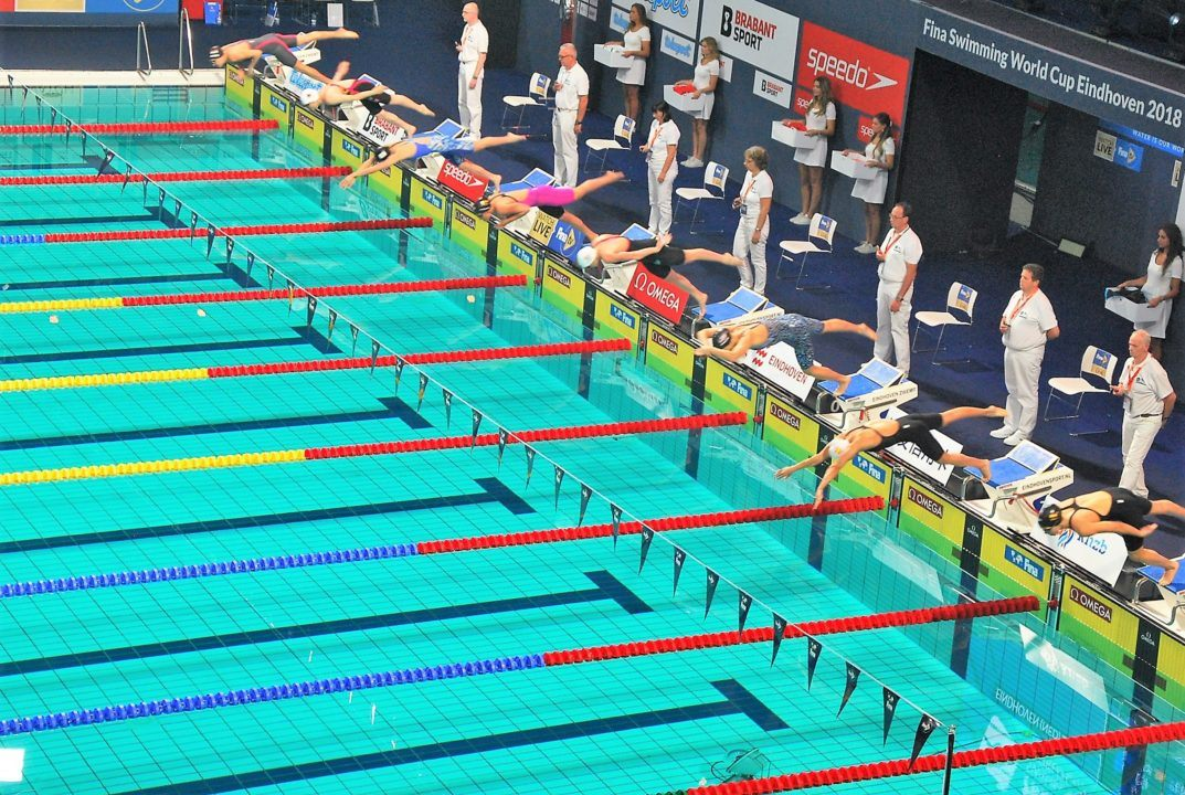Epic Swims: The Greatest Relay Finish You'll Never See