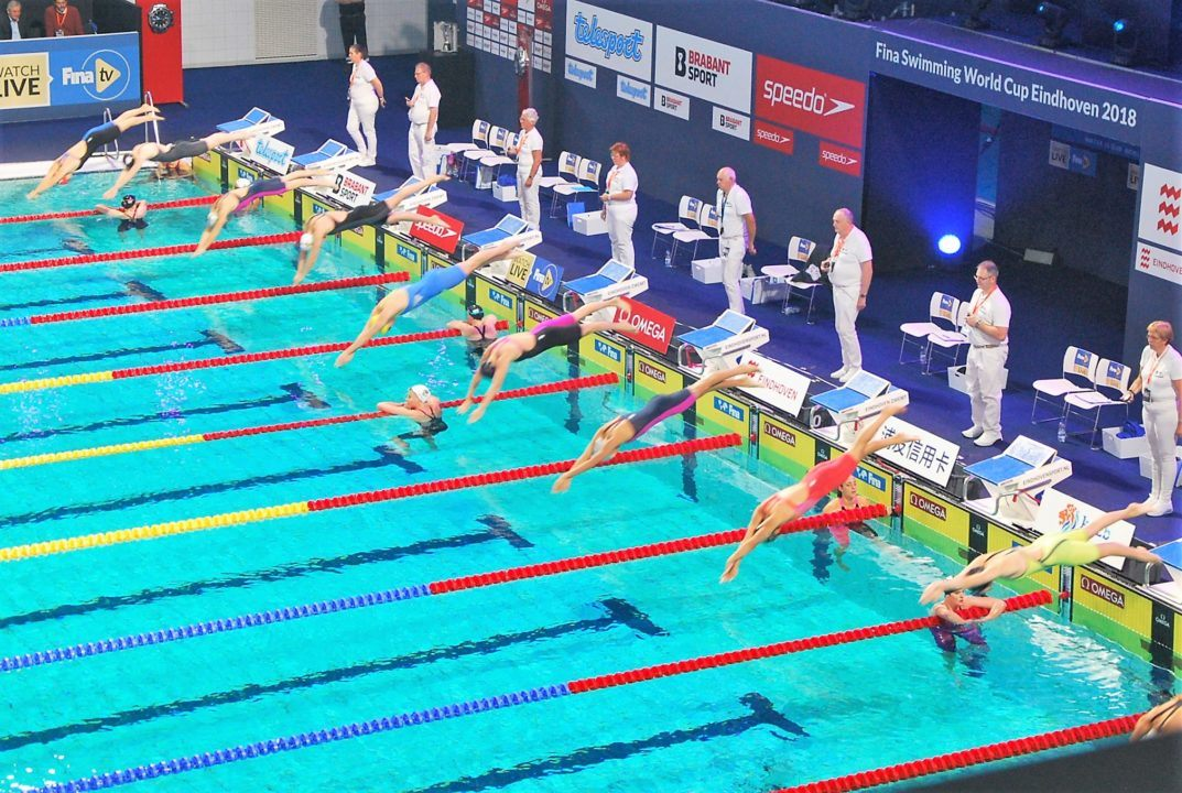 FINA World Cup Singapore Day 3 Prelims Recap
