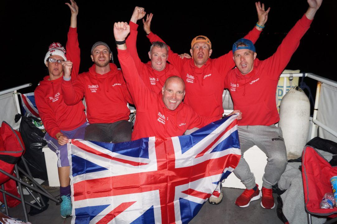 British Team of 6 Completes 4-Way English Channel Swim