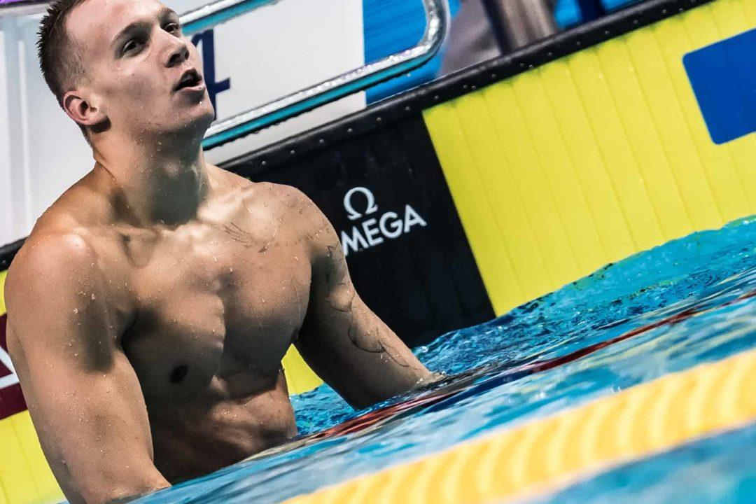 Dressel Lowers 100 Free American Record On Lead-Off Leg Of 4×100 Relay