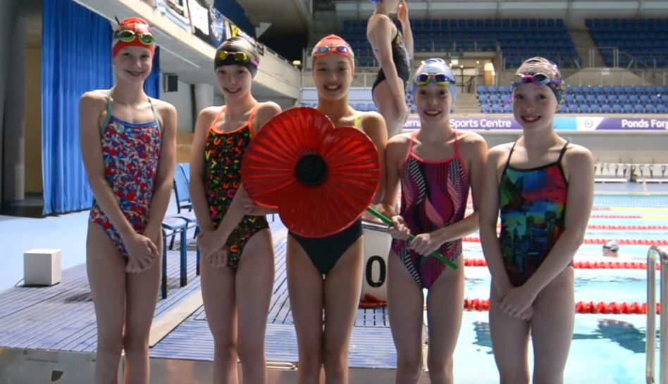100 x 100 'We Will Remember Them' Relay Commemorates World War I