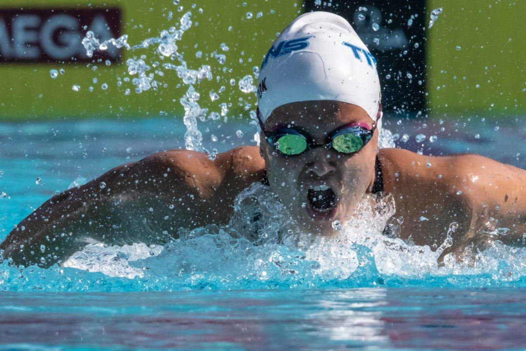 Roadmaps – Mapping the Journey of US Swimming Stars: Women's 200 Fly