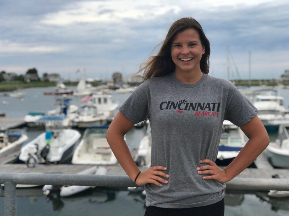 MA State Champ Katherine Connolly Gives Verbal to Cincinnati Bearcats