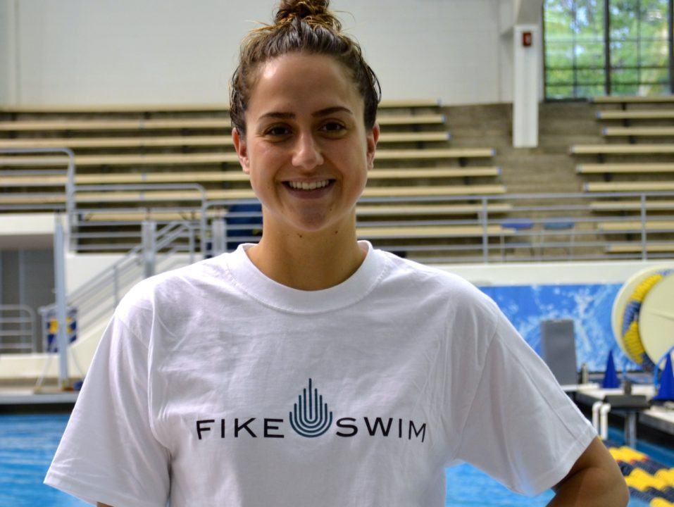 World and American Record Holder Ali DeLoof Signs with Fike Swim