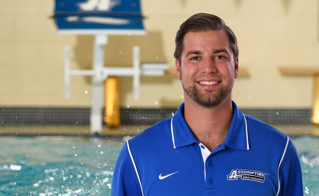 Evan Sholudko Named First Men's Swimming Head Coach at Assumption